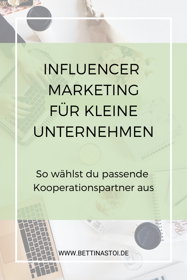 Pinterest Grafik Influencer Marketing
