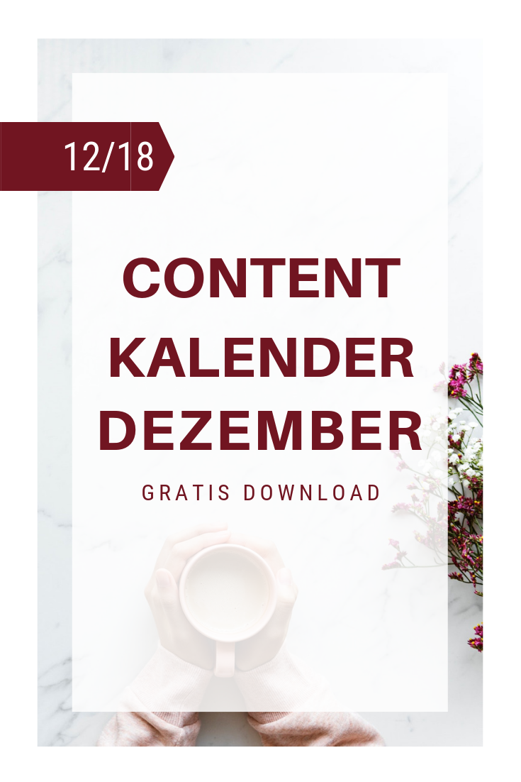 Content Kalender Dez Cover