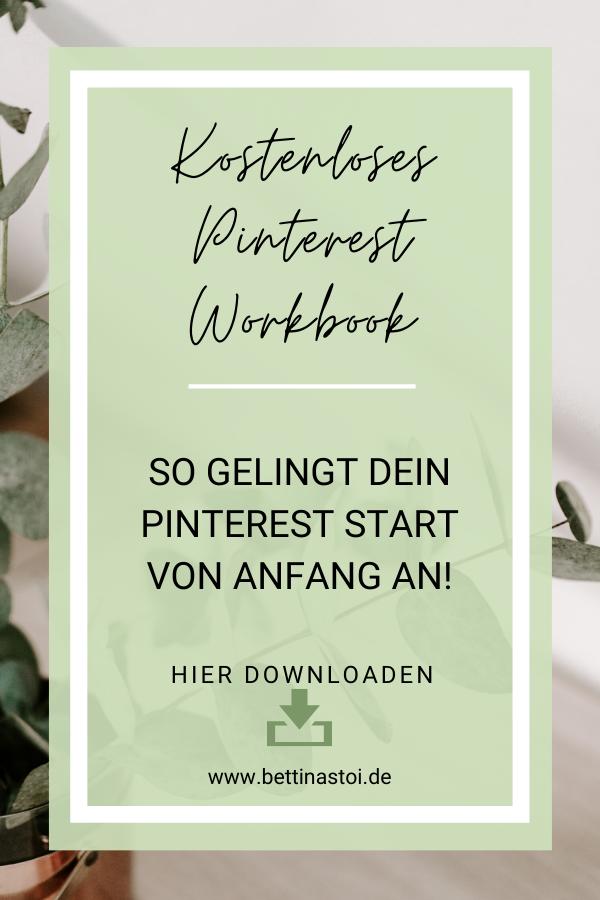 Pinterest Cover Workbook Checkliste für Beginner