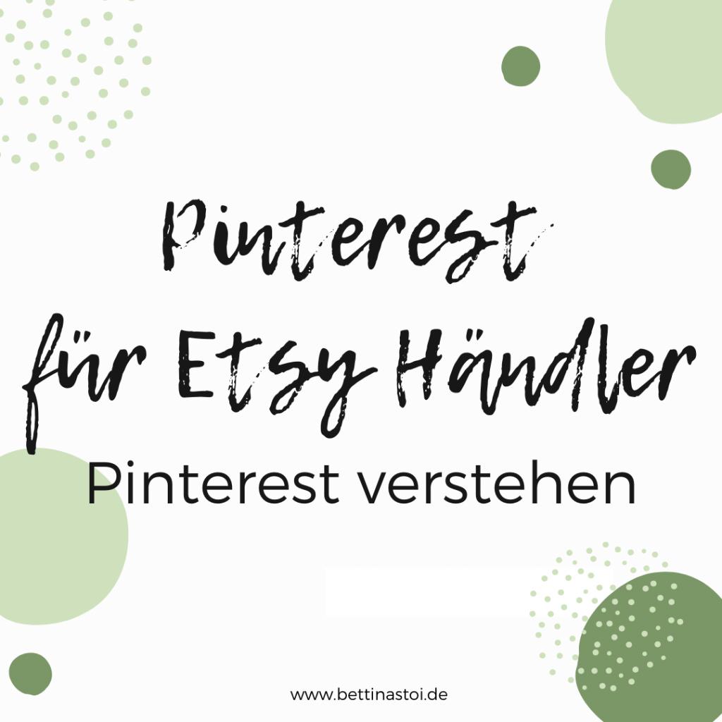 Beitrag Pinterest für Etsy Shops