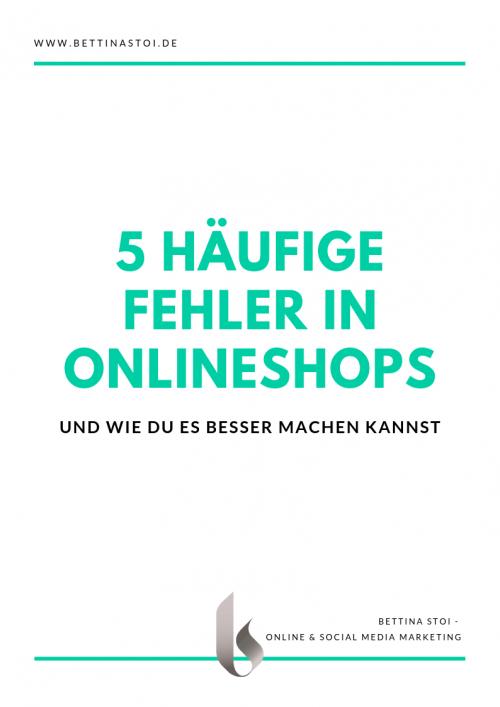 Cover Whitepaper 5 Fehler Onlineshops